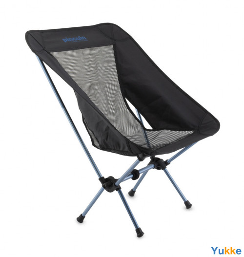 Кресло раскладное Pinguin Pocket Chair (2020) Black/Blue (PNG 659054)