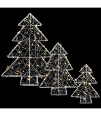 luca lighting Комплект из 3-х декоративных фигурок Three Trees 8718861498509