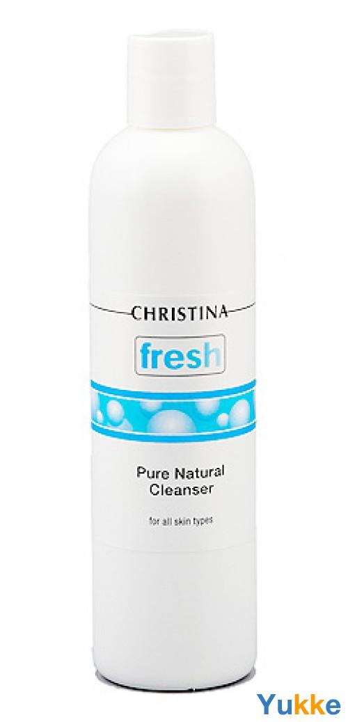 Christina fresh pure & natural cleanser - натуральный очиститель для всех типов кожи - christina. интернет магазин beautyshop..